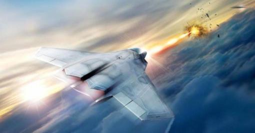самолет лазер