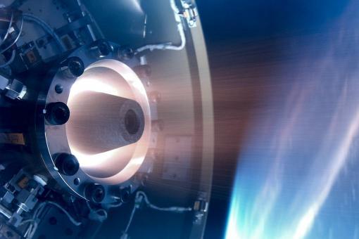 вращающийся детонационный двигатель