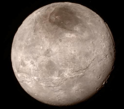 портрет Плутона