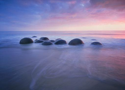 Moeraki Boulders (Валуны Моераки), Новая Зеландия