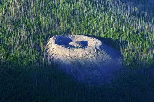 Патомский кратер, Иркутская обл